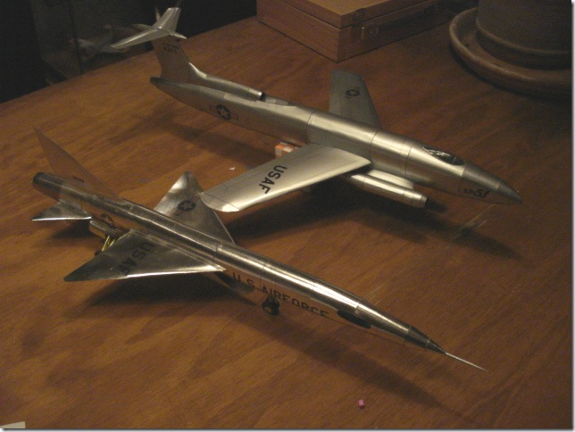 Nobi XF-103 and XB-51
