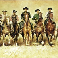 The magnificent seven ride again...