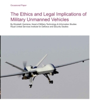 Ethics and Legal Implications of Military Unmanned Vehicles