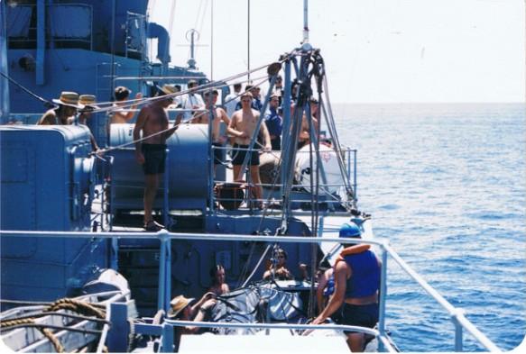 HMAS Stewart 1989
