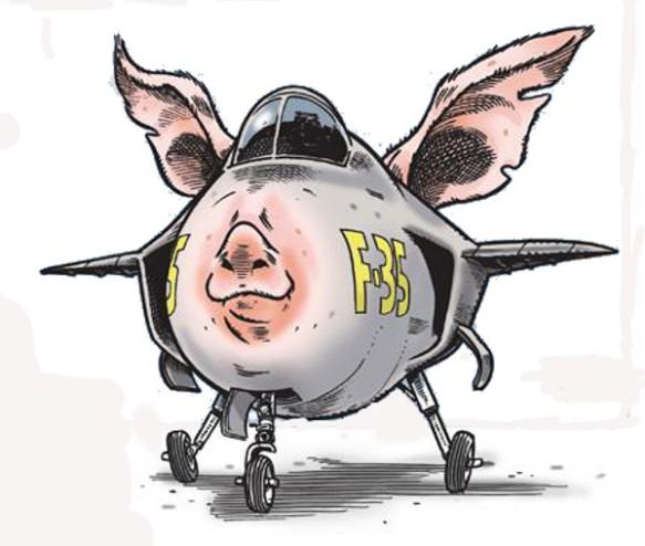 f-35 cartoon