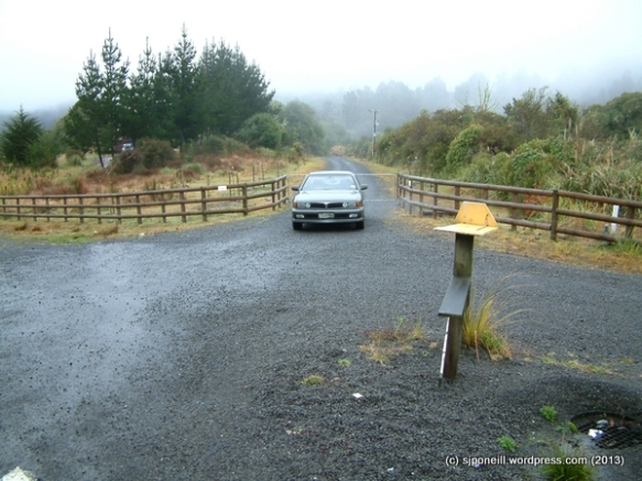 Raurimu driveway Aug 04 - 1