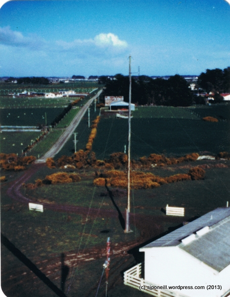 View from Telecom mast near Invercargill