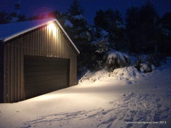First snow 2013 - Raurimu-012