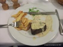 Steak @ Chez Vincent