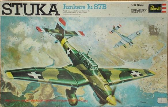 Revell Ju-87B 1-32 boxart