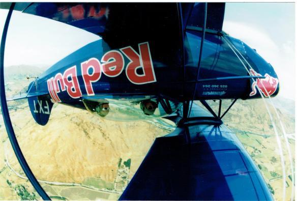 Queenstown aerobatics Jan 98