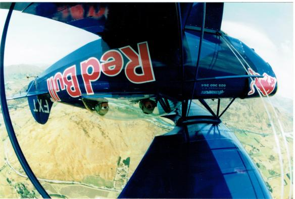 Queenstown aerobatics Jan 98