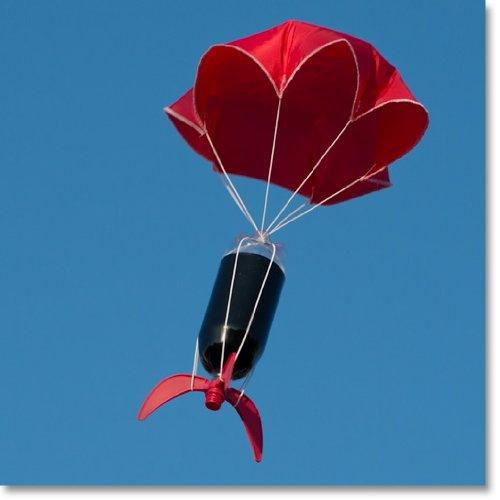 Water Bottle Rocket Parachute: A Post In Four Courses – Apres