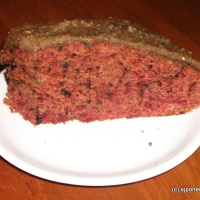 Beetroot Coffee Cake
