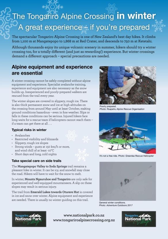 Tongariro Alpine Crossing_winter 1